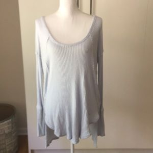 Free People knit oversized sweater lounge Sz s